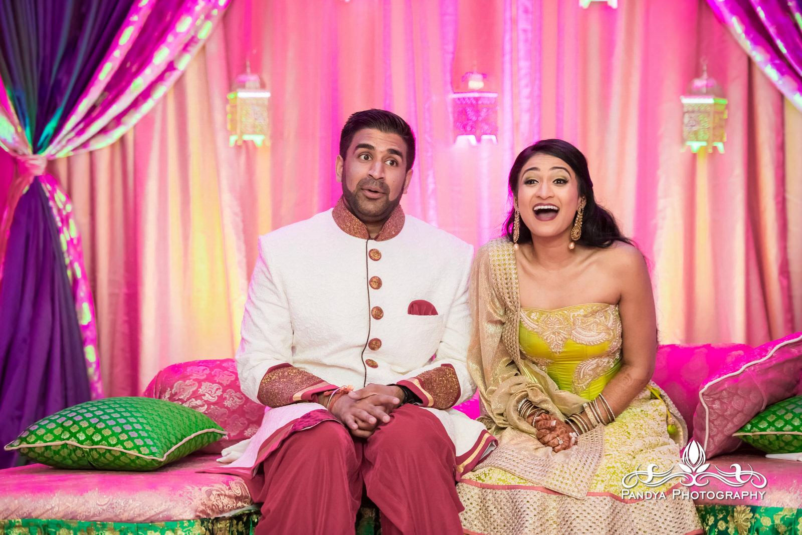 Wedding: Pooja and Kunal Sangeet at the Sheraton Mahwah in New ...