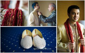 Groom's prep and details